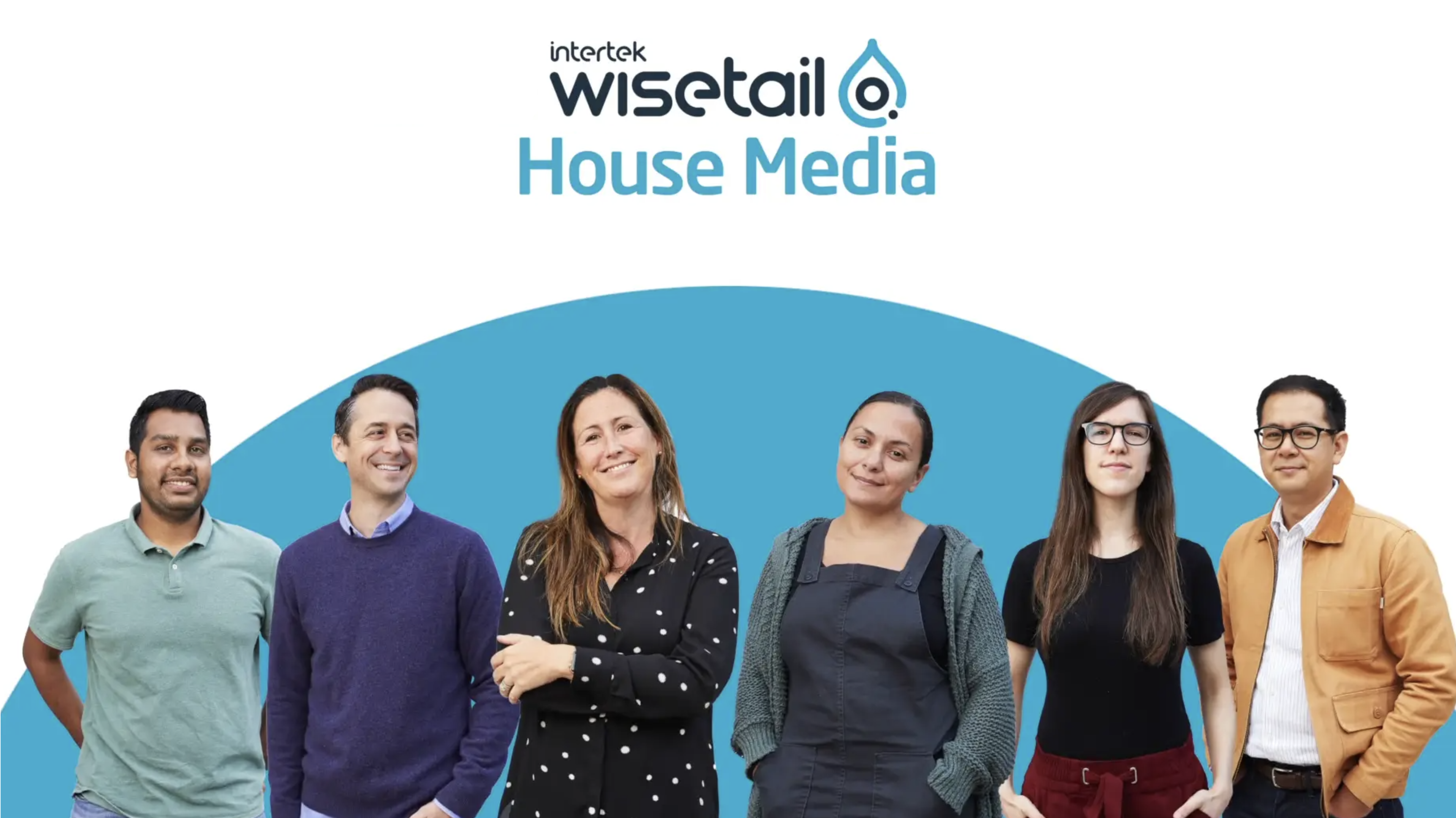 thumbnail for video; wisetail house media with six people on a blue circle